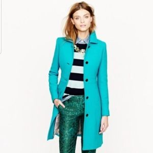 JCrew Double Cloth Lady Day Coat, Size 4
